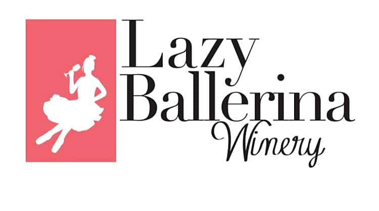 Lazy Ballerina Winery Logo
