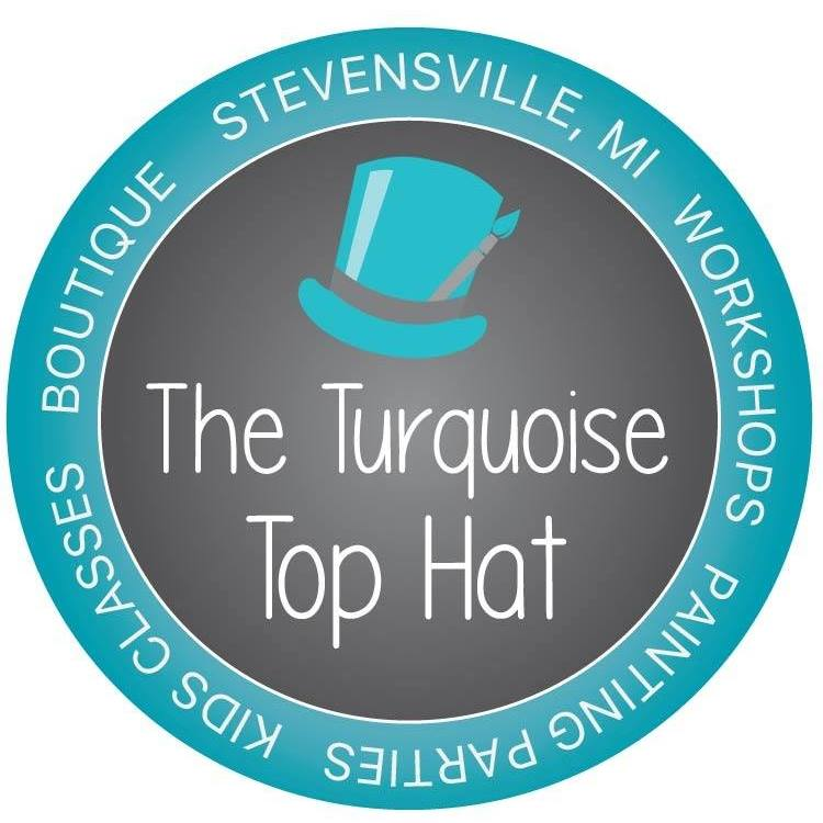 The Turquoise Top Hat Logo