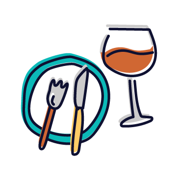 Eat & Drink Tag Icon