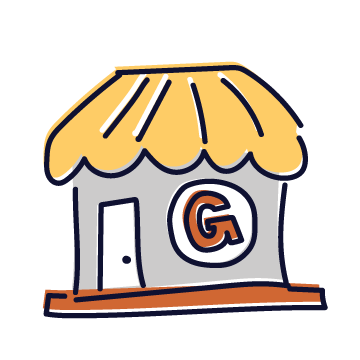 General Store Tag Icon