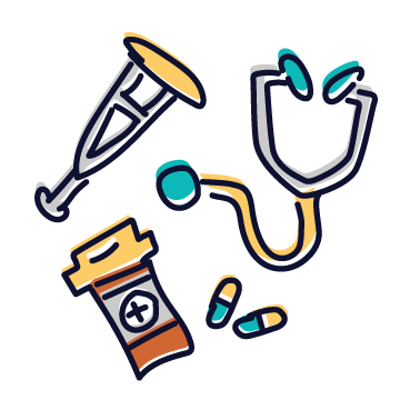 Health & Medical Services Tag Icon